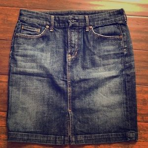 3/$25 Citizens of Humanity Jean Skirt